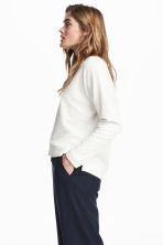 Sweatshirt - White - Ladies | H&M 1