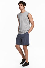 Sports shorts - Dark grey-blue - Men | H&M 1