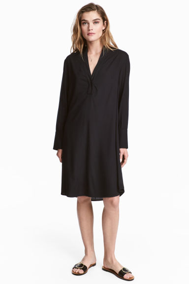 Tunic - Black - Ladies | H&M 1