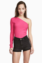 One-shoulder top - Cerise - Ladies | H&M 1