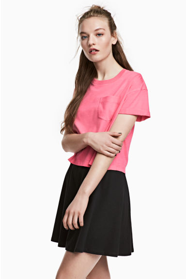 短版T恤 - Cerise - Ladies | H&M 1