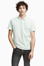 Polo shirt - Mint green - Men | H&M 1