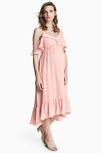 MAMA Chiffon dress - Powder pink - Ladies | H&M 1