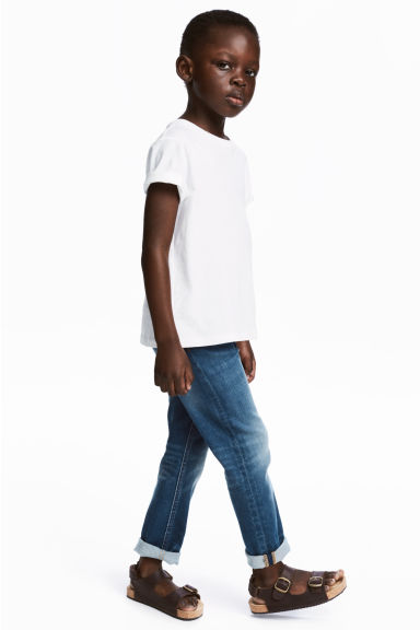 Super Soft Slim fit Jeans - Deniminsininen - Kids | H&M FI 1