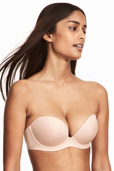 Strapless super push-up bra - Chai - Ladies | H&M 1