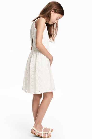 Lace dress - White - Kids | H&M CA 1