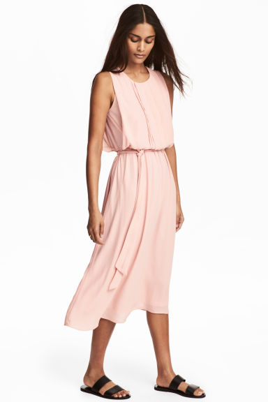 MAMA Sleeveless dress - Powder pink -  | H&M IE 1