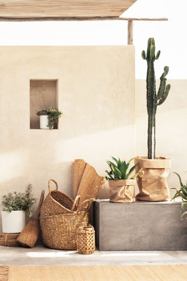 Candle lantern - Natural - Home All | H&M GB 1