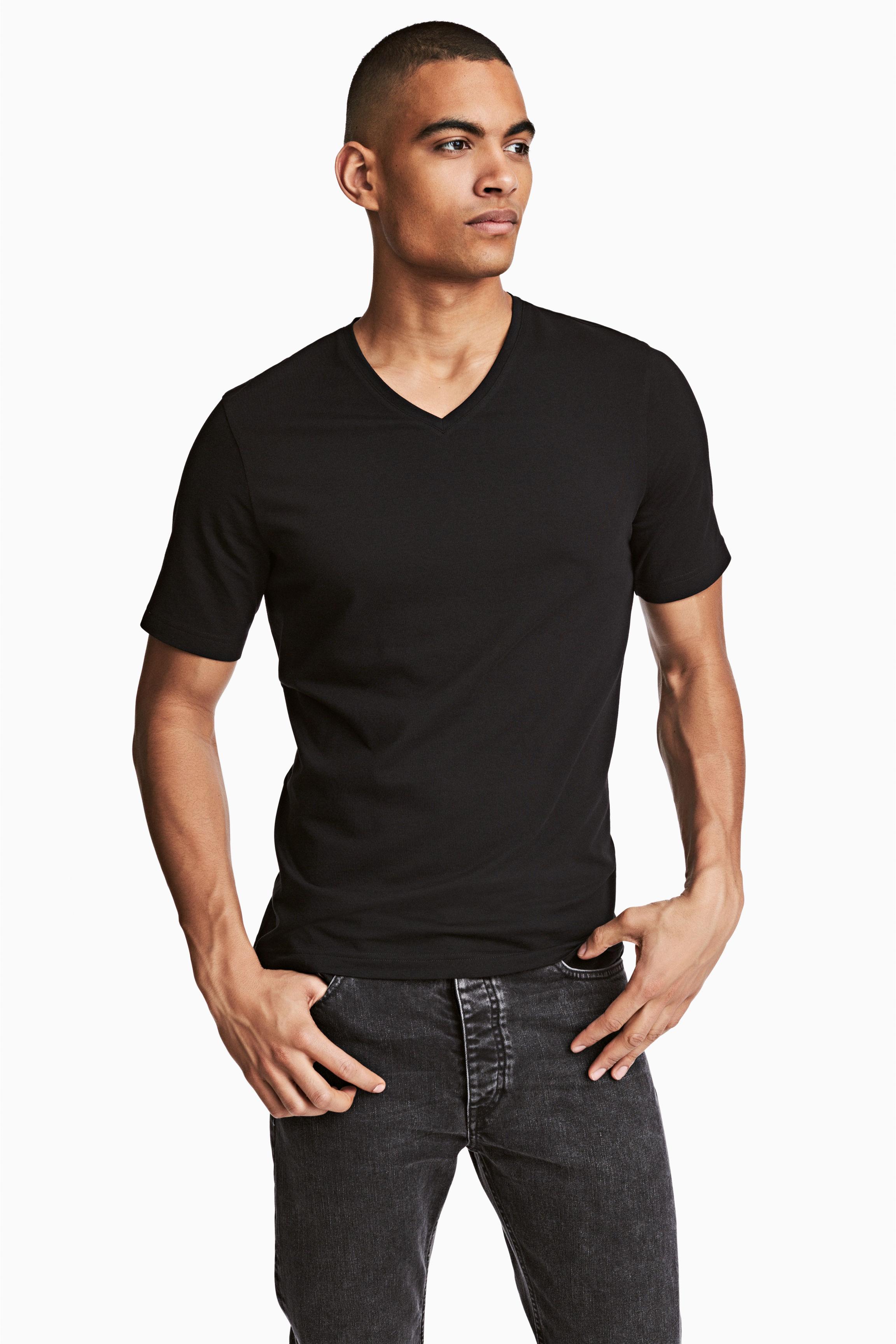 Black t shirt man - Black T Shirt Man 7