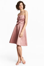 Short bandeau dress - Vintage pink - Ladies | H&M CN 1