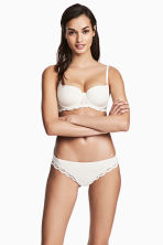 2-pack Brazilian briefs - Natural white - Ladies | H&M CN 1