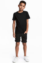 Twill shorts - Black - Kids | H&M 1