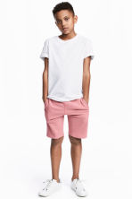 Sweatshirt shorts - Pink - Kids | H&M CN 1
