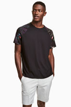 T-shirt - Black - Men | H&M 1