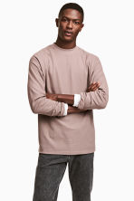 Waffled top - Light heather - Men | H&M CN 1
