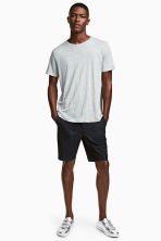 Short cotton shorts - Black - Men | H&M 1
