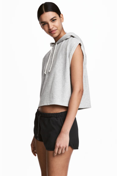 Short jersey shorts - Black - Ladies | H&M CN 1