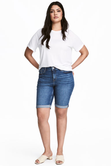 H&M+ Denim short Model