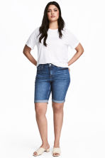 H&M+ Denim shorts - Denim blue -  | H&M 1