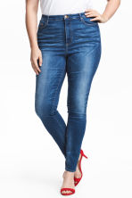 H&M+ Shaping Skinny High waist - Bleu denim -  | H&M FR 1