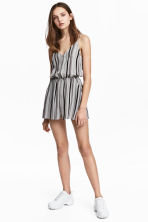 Playsuit - White/Striped -  | H&M 1