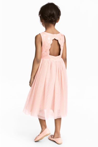 Tulle dress - Powder pink - Kids | H&M CA 1