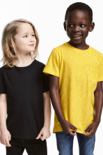 Lot de 2 T-shirts - Jaune - ENFANT | H&M FR 1