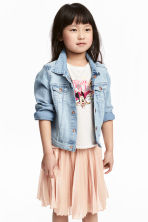 Printed jersey top - White/Minnie Mouse - Kids | H&M CN 1