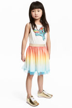 Dress with a tulle skirt - White/My Little Pony - Kids | H&M CN 1