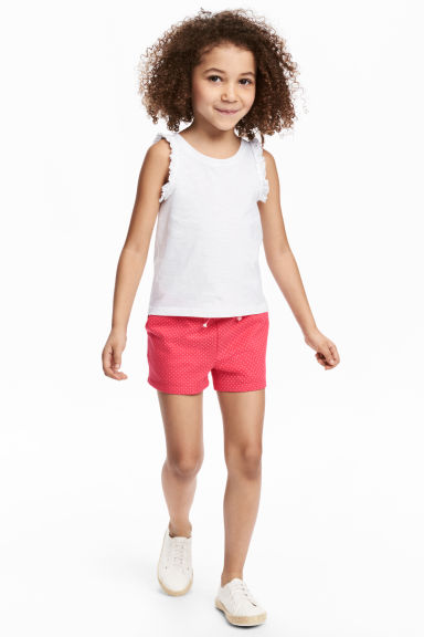 Jersey shorts - Raspberry pink - Kids | H&M 1