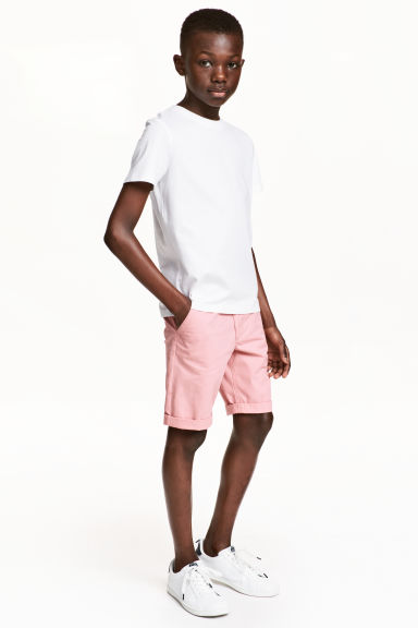 Chinoshort - Lichtroze -  | H&M BE