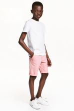 Chino shorts - Light pink -  | H&M 1