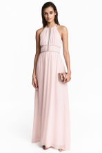 Long dress - Light pink - Ladies | H&M 1