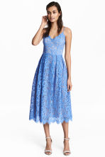 Lace dress - Blue - Ladies | H&M 1