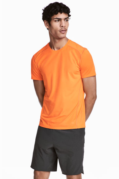 Sports top - Orange - Men | H&M