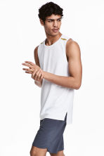 Sports vest - White - Men | H&M 1