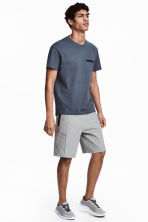 Sports shorts - Grey marl - Men | H&M CN 1