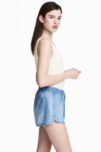 萊賽爾短褲 - Light denim blue - Ladies | H&M 2