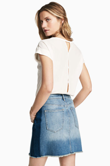 Top ample - Blanc - FEMME | H&M CH