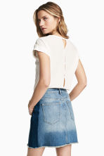 Top ample - Blanc - FEMME | H&M CH 1