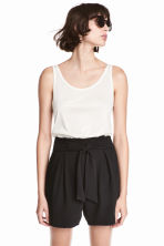 Shorts eleganti - Nero -  | H&M IT 1