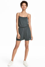 Jersey playsuit - Petrol - Ladies | H&M 1