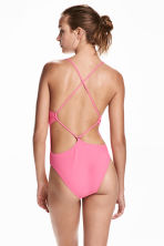 Swimsuit High leg - Pink - Ladies | H&M CN 1
