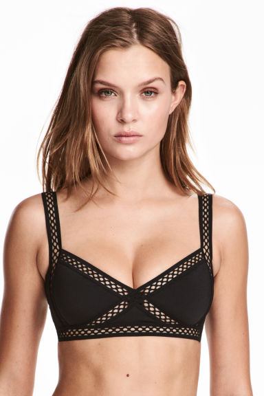 Bikini top - Black - Ladies | H&M CN 1