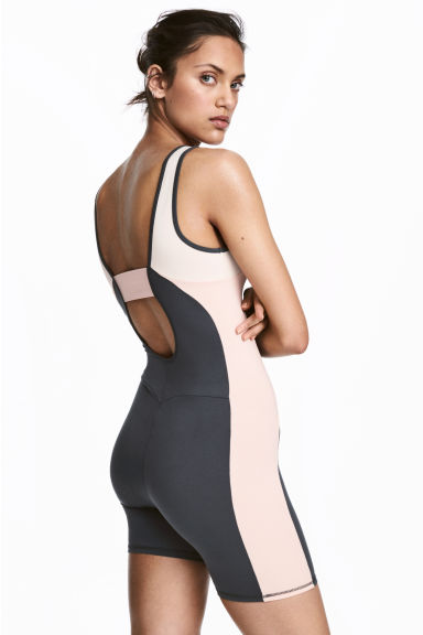Short tri suit - Dark grey/Powder - Ladies | H&M 1