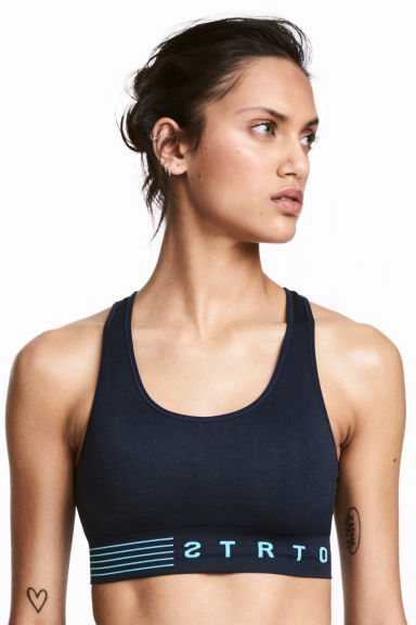 Sports bra Low support Model