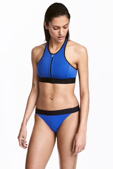 Bikini bottoms - Blue - Ladies | H&M 1