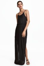 Maxi dress - Black - Ladies | H&M CA 2