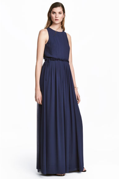 Maxi dress - Dark blue -  | H&M 1