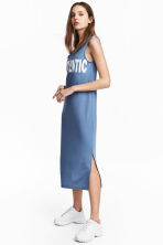 Jersey dress - Pigeon blue - Ladies | H&M CN 1